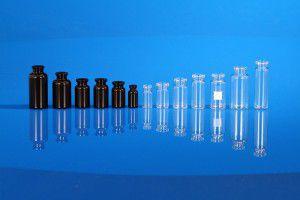 Injectables en verre étiré