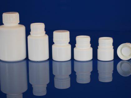 Flacons piluliers PEHD Pharmacie