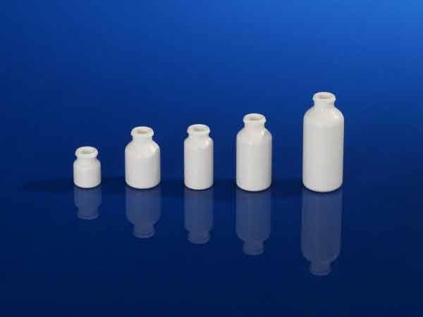 Flacons pharmaceutiques sprays, bague Snap AP