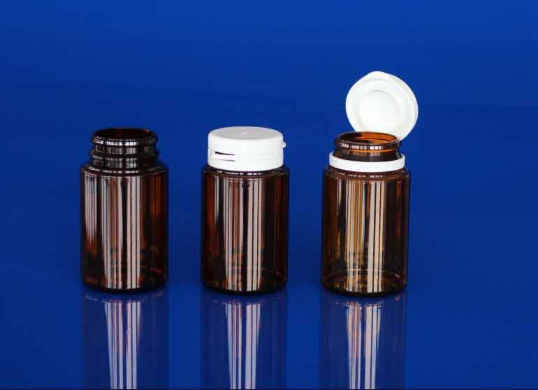 Flacon pilulier PET