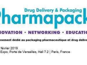 PHARMAPACK 2019, les 6 et 7 Février, Paris Porte de Versailles