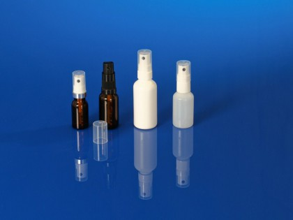 Pompes spray pharmaceutiques, spray horizontal