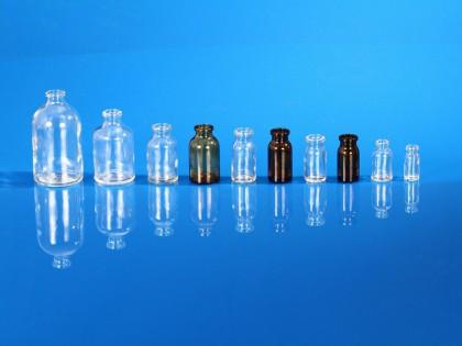 Flacons injectables pharmacie en verre moulé