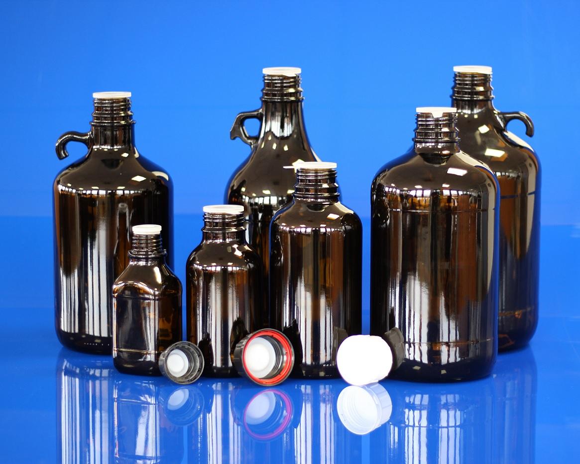 Flacons pour produits chimiques
